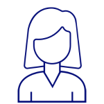 Female Contact Icon
